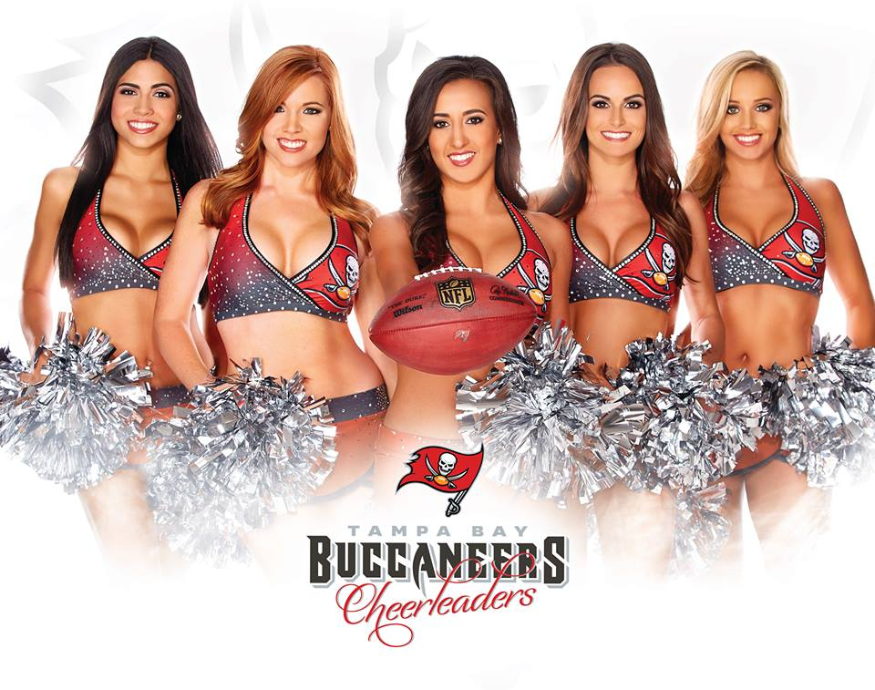Trends Studio Hair and Makeup Lounge Tampa Bay Buccaneers Cheerleaders