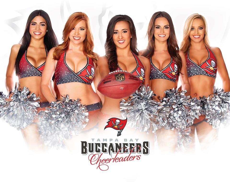 Trends Studio Hair and Makeup Lounge Tampa Bay Buccaneers Cheerleaders